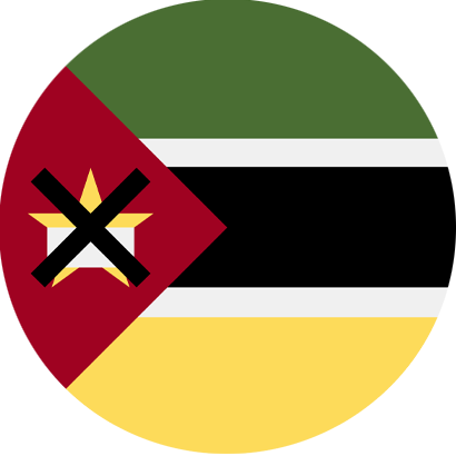 Flag mozambique